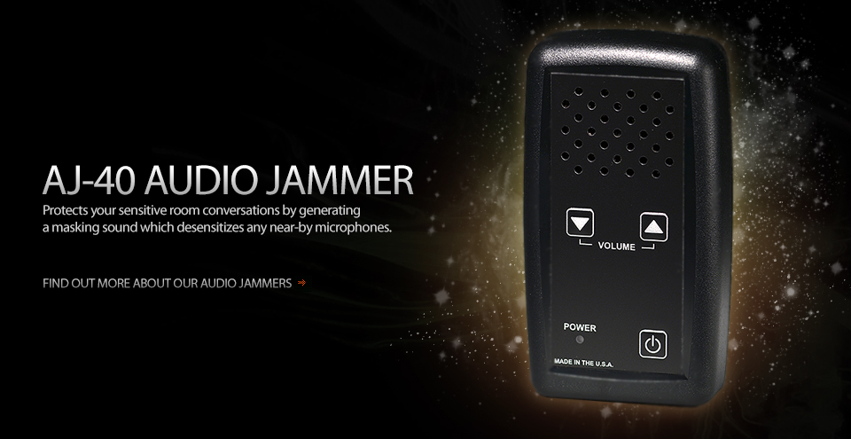 Rechargeable Audio Jammer AJ-40