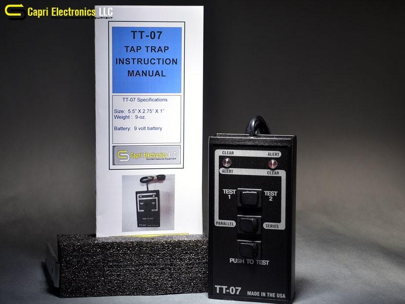 TAP TRAP™ Wiretap Detector TT-07