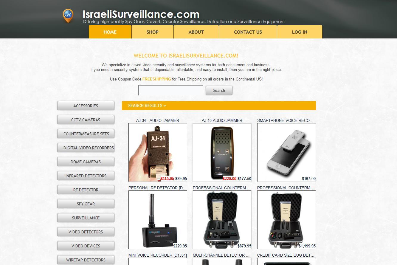 Infinity Enterprises / Israeli Surveillance